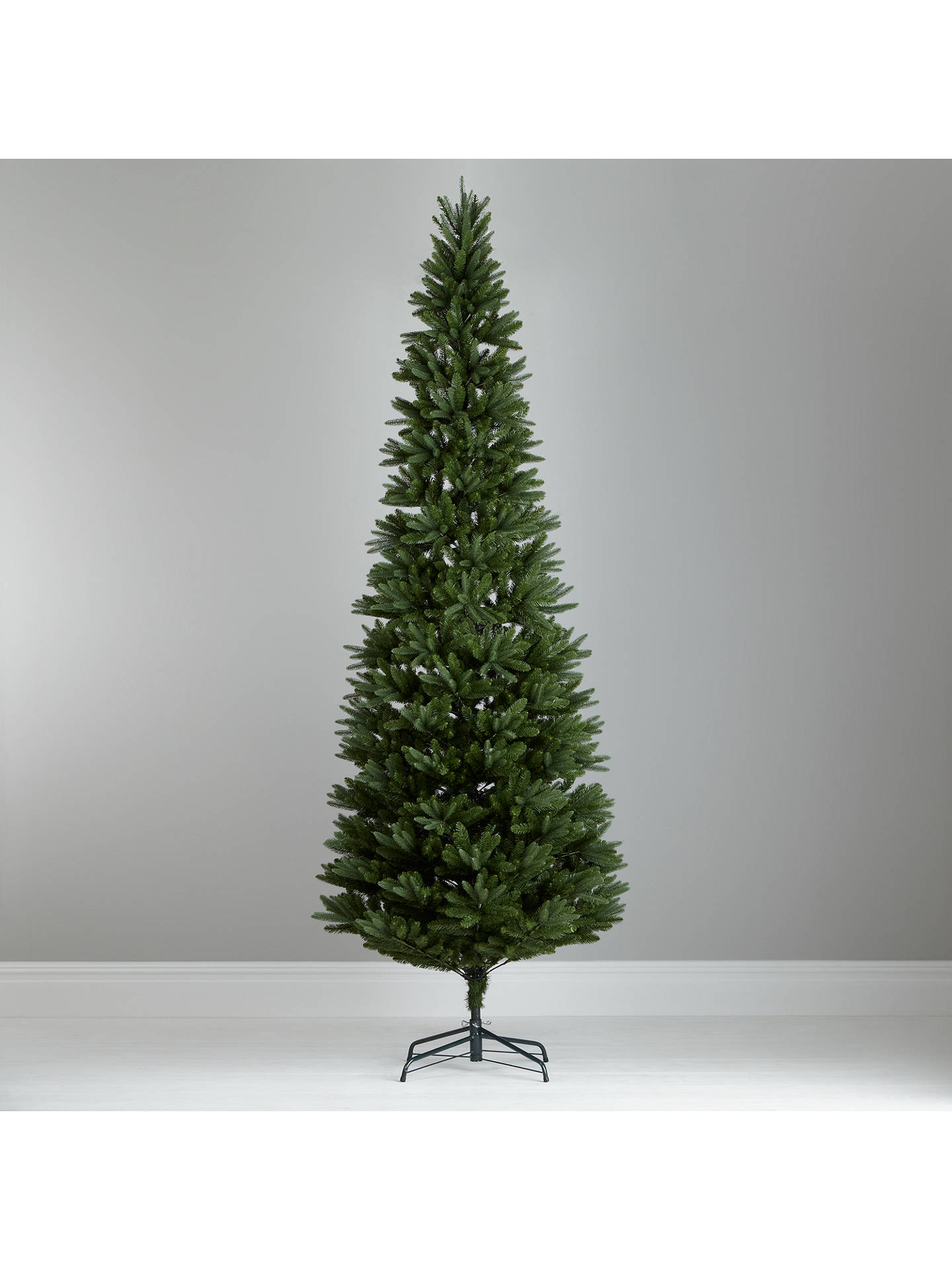 BuyJohn Lewis Aspen Slim Christmas Tree, Green, 8ft Online at johnlewis.com ...