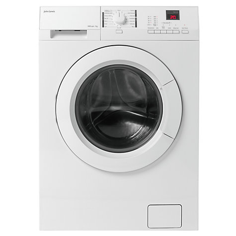 Buy John Lewis JLWM1412 Freestanding Washing Machine, 7kg Load, A+++ Energy Rating, 1400rpm Spin, White Online at johnlewis.com
