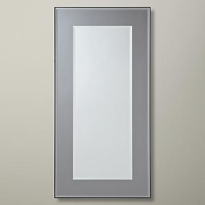 John Lewis Marietta Mirror, Smoked, 80 x 40cm