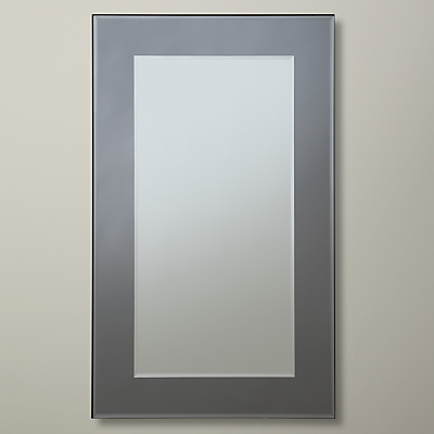 John Lewis Marietta Mirror, Smoked, 101 x 75cm