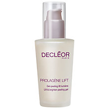 Buy Decléor Prolagene Lift - Lift & Brighten Peeling Gel Online at johnlewis.com