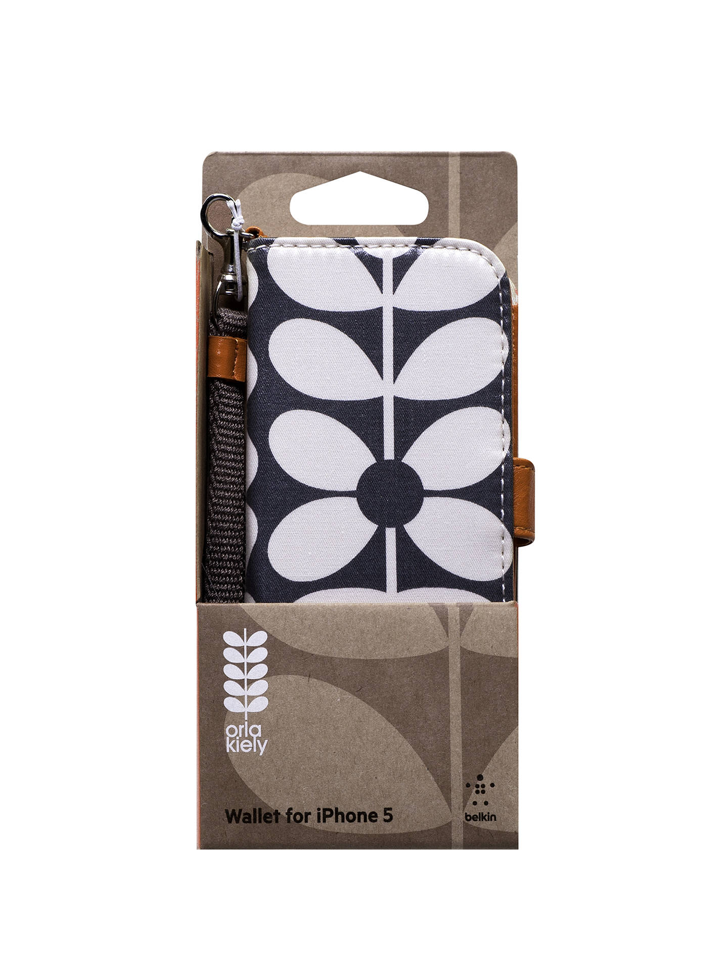 detailed look 0f3e6 c41a8 Orla Kiely Optic Stem Wallet Case for iPhone 5 & 5s at John Lewis ...
