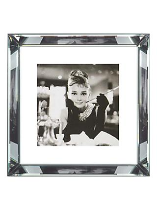 Brookpace, The Manhattan Collection - Breakfast at Tiffany's Framed Print, 46 x 46cm