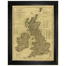 Buy Brookpace, Vintage Maps Collection - British Isles Framed Print, 117 x 91cm Online at johnlewis.com