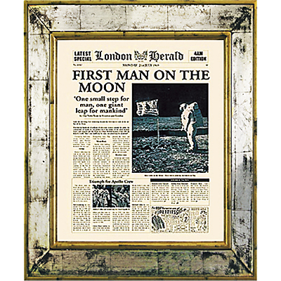 Brookpace, The Versailles Collection – First Man on the Moon Framed Print, 55 x 45cm