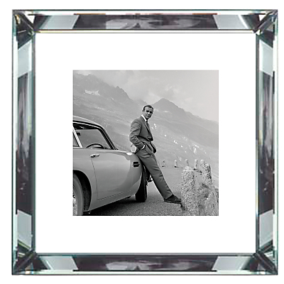 Brookpace, The Manhattan Collection – James Bond Aston Martin Framed Print, 46 x 46cm