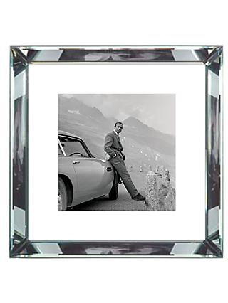 Brookpace, The Manhattan Collection - James Bond Aston Martin Framed Print, 46 x 46cm