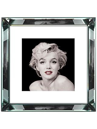 Brookpace, The Manhattan Collection - Marilyn Monroe Red Lips Framed Print, 46 x 46cm