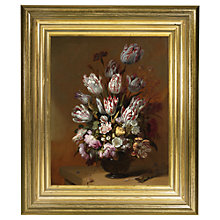 Buy Rijksmuseum, Hans Bollongier - Still Life with Flowers Framed Print, 34 x 29cm Online at johnlewis.com