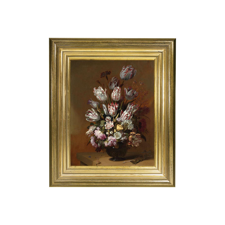 Rijksmuseum, Hans Bollongier - Still Life with Flowers Framed Print ...