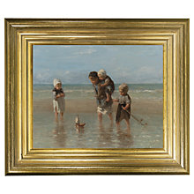Buy Rijksmuseum, Jozef Israëls - Children of the Sea Framed Print, 29 x 34cm Online at johnlewis.com