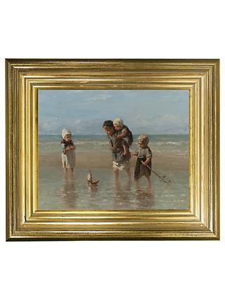 Rijksmuseum, Jozef Israëls - Children of the Sea Framed Print, 29 x 34cm