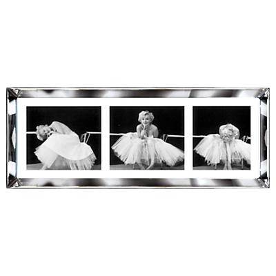 Brookpace, The Manhattan Collection – Ballerina Triptych Framed Print, 39 x 102cm