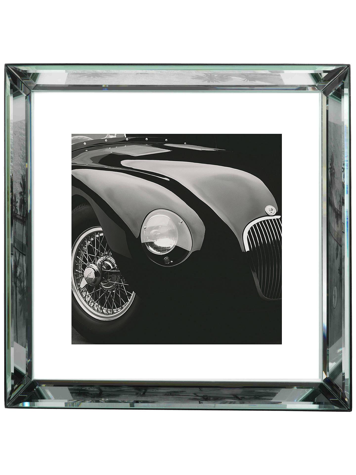 BuyBrookpace, The Manhattan Collection   Jaguar C Type Framed Print, 57 X  57cm