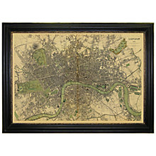 Buy Brookpace, Vintage Maps Collection - London Framed Print, 76 x 107cm Online at johnlewis.com