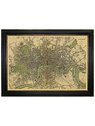 Brookpace, Vintage Maps Collection - London Framed Print, 76 x 107cm