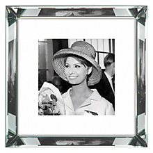 Buy Brookpace, The Manhattan Collection - Sophia Loren Framed Print, 46 x 46cm Online at johnlewis.com