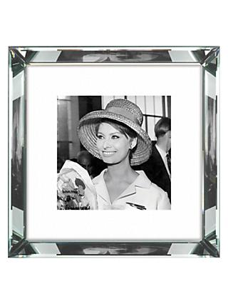 Brookpace, The Manhattan Collection - Sophia Loren Framed Print, 46 x 46cm