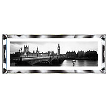 Buy Brookpace, The Manhattan Collection - London, England Framed Print, 39 x 102cm Online at johnlewis.com