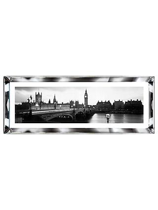 Brookpace, The Manhattan Collection - London, England Framed Print, 39 x 102cm