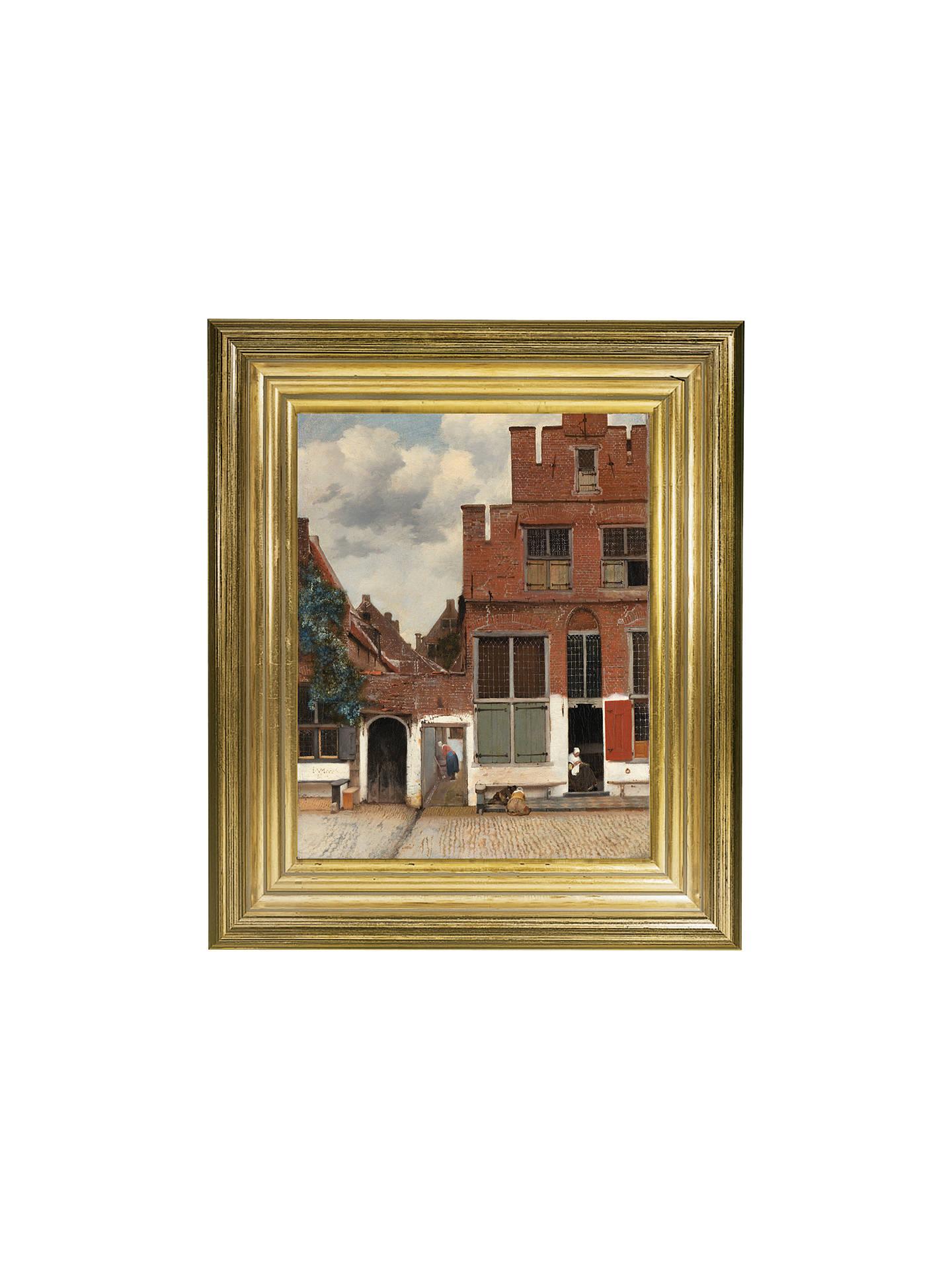 Rijksmuseum, Johannes Vermeer - The Little Street Framed Print, 34 x