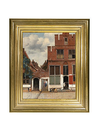 Buy Rijksmuseum, Johannes Vermeer - The Little Street Framed Print, 34 x 29cm Online at johnlewis.com