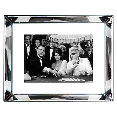 Brookpace, The Manhattan Collection – Thunderball Casino Framed Print, 67 x 87cm