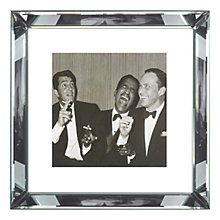 Buy Brookpace, The Manhattan Collection - The Rat Pack Framed Print, 46 x 46cm Online at johnlewis.com