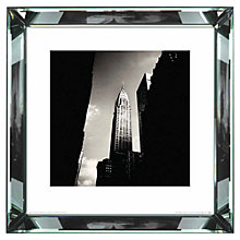 Buy Brookpace, The Manhattan Collection - Chrysler Building Framed Print, 46 x 46cm Online at johnlewis.com
