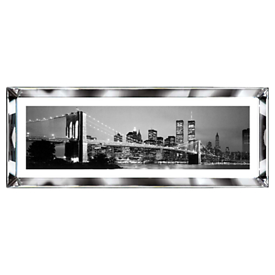 Brookpace, The Manhattan Collection – New York Skyline Framed Print, 39 x 102cm