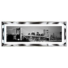 Buy Brookpace, The Manhattan Collection - New York Skyline Framed Print, 39 x 102cm Online at johnlewis.com
