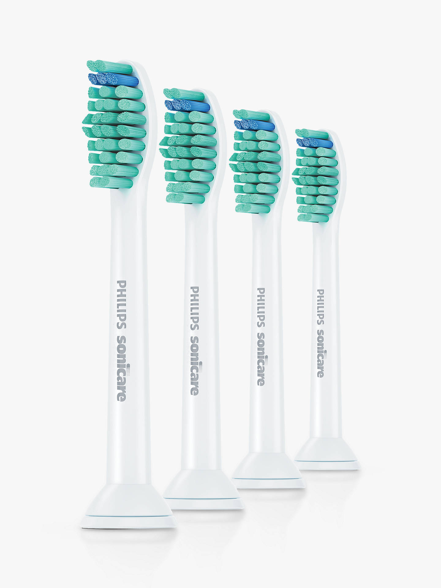 BuyPhilips Sonicare HX6014/26 Pro Results Brush Heads, Pack of 4 Online at johnlewis.com