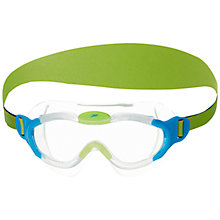 Buy Speedo Junior Sea Squad Mask, Blue/Green Online at johnlewis.com