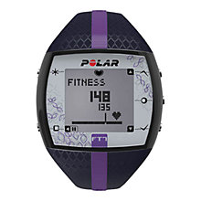 Buy Polar FT7 Heart Rate Monitor, Blue/Lilac Online at johnlewis.com