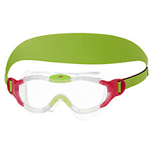 Buy Speedo Junior Squad Mask, Pink/Green Online at johnlewis.com