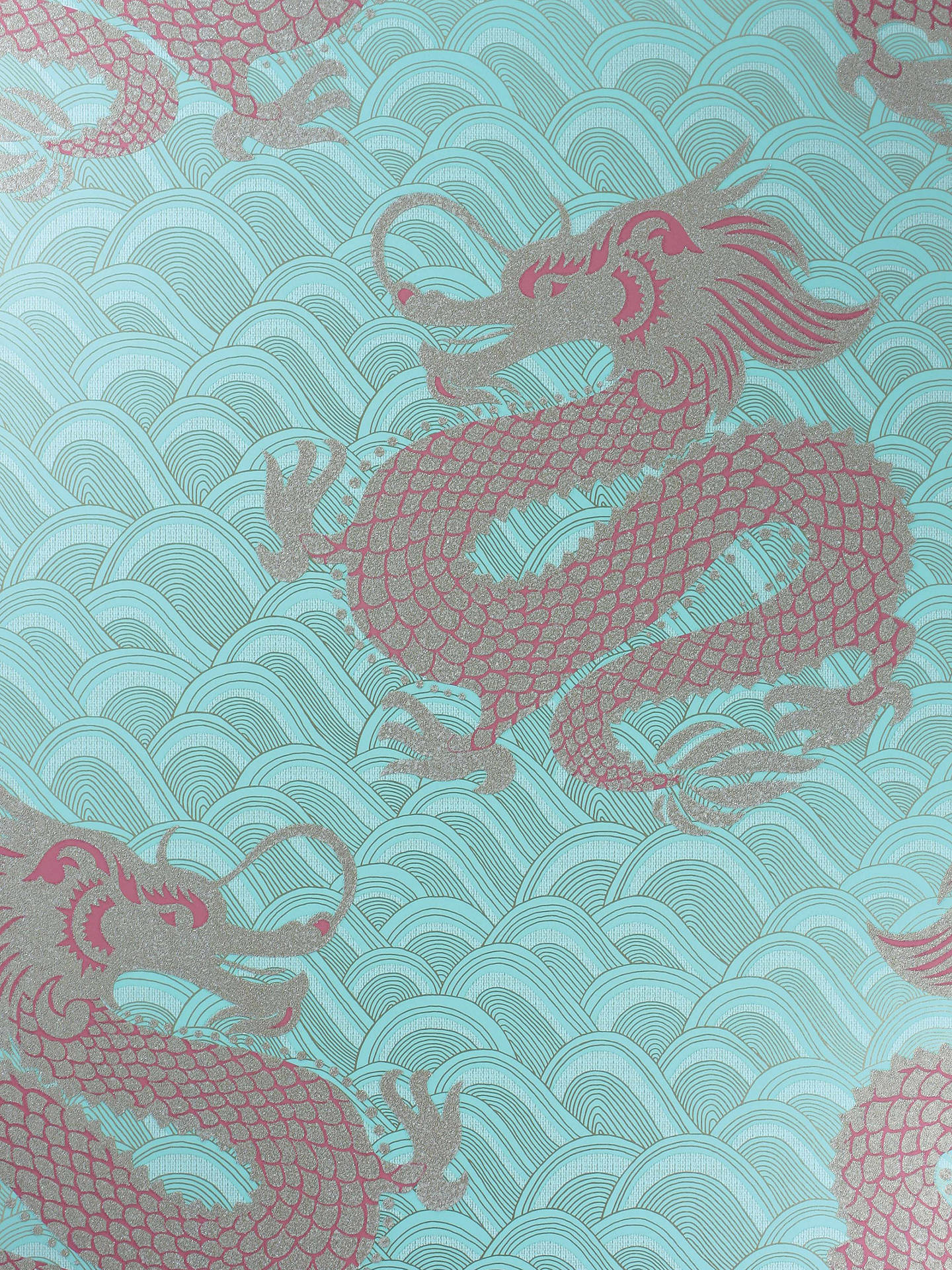Buy Matthew Williamson Celestial Dragon Wallpaper, W6545-01 Online at johnlewis.com
