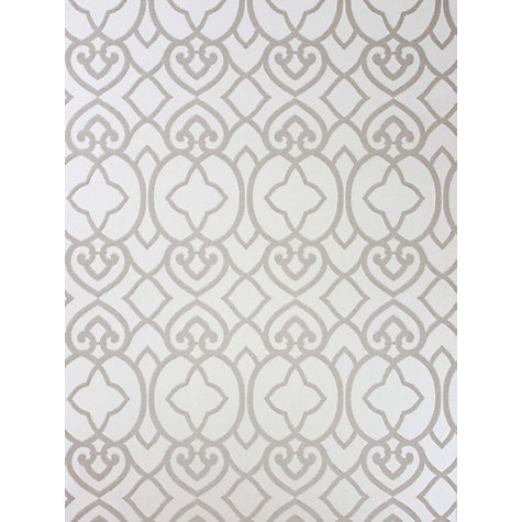buy matthew williamson imperial lattice wallpaper | john lewis
