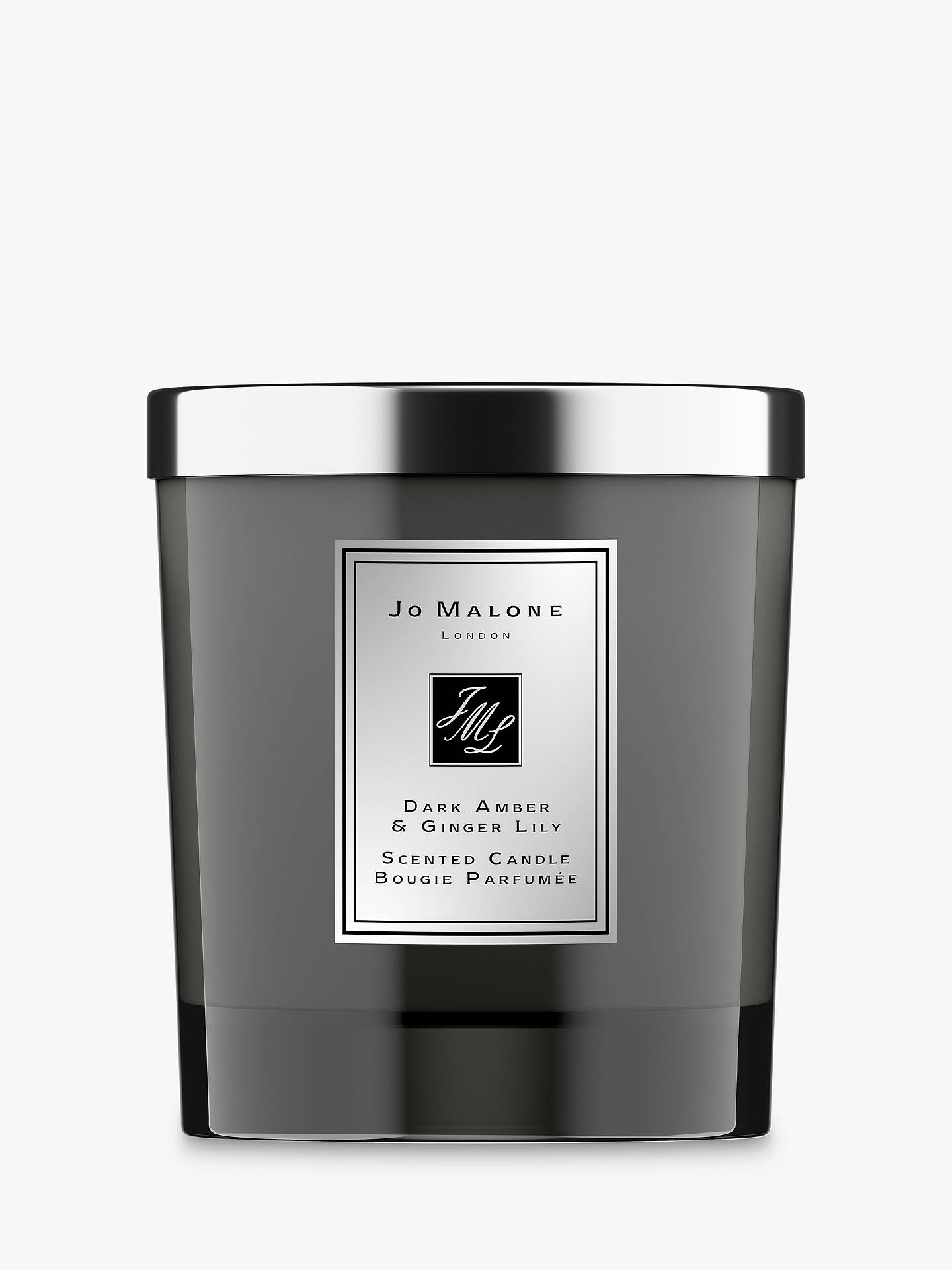 Buy Jo Malone London Intense Dark Amber & Ginger Lily Home Scented Candle, 200g Online at johnlewis.com