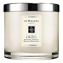 Buy Jo Malone London Lime Basil & Mandarin Deluxe Candle, 600g Online at johnlewis.com