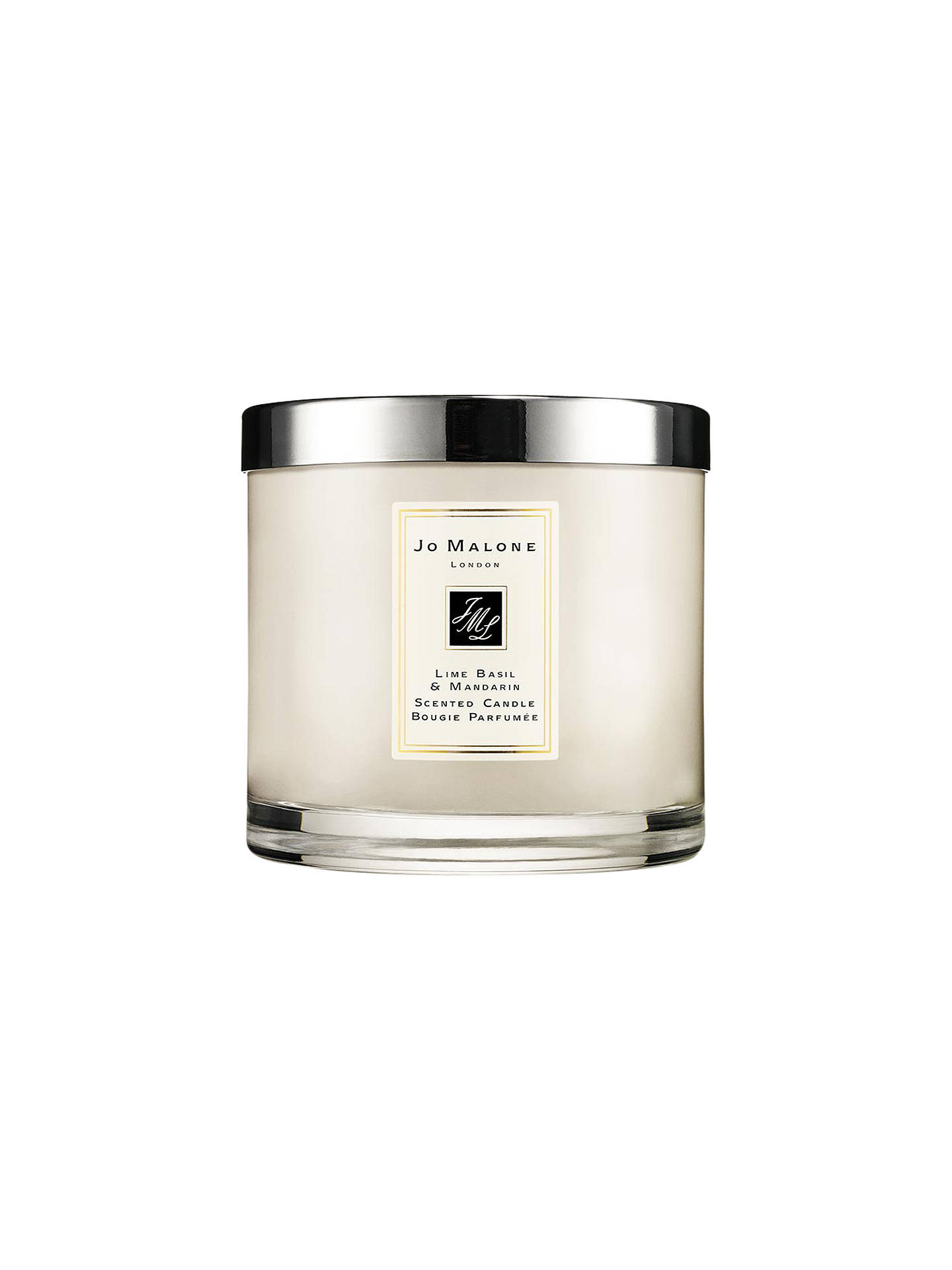 BuyJo Malone London Lime Basil & Mandarin Deluxe Scented Candle, 600g Online at johnlewis.com