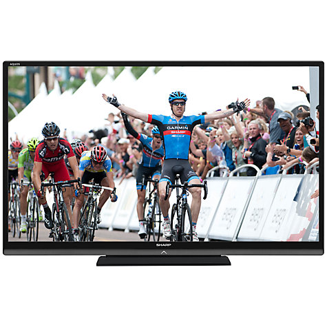 "Buy Sharp Aquos LC70LE747K LED HD 1080p 3D Smart TV, 70"" with Freeview HD Online at johnlewis.com"