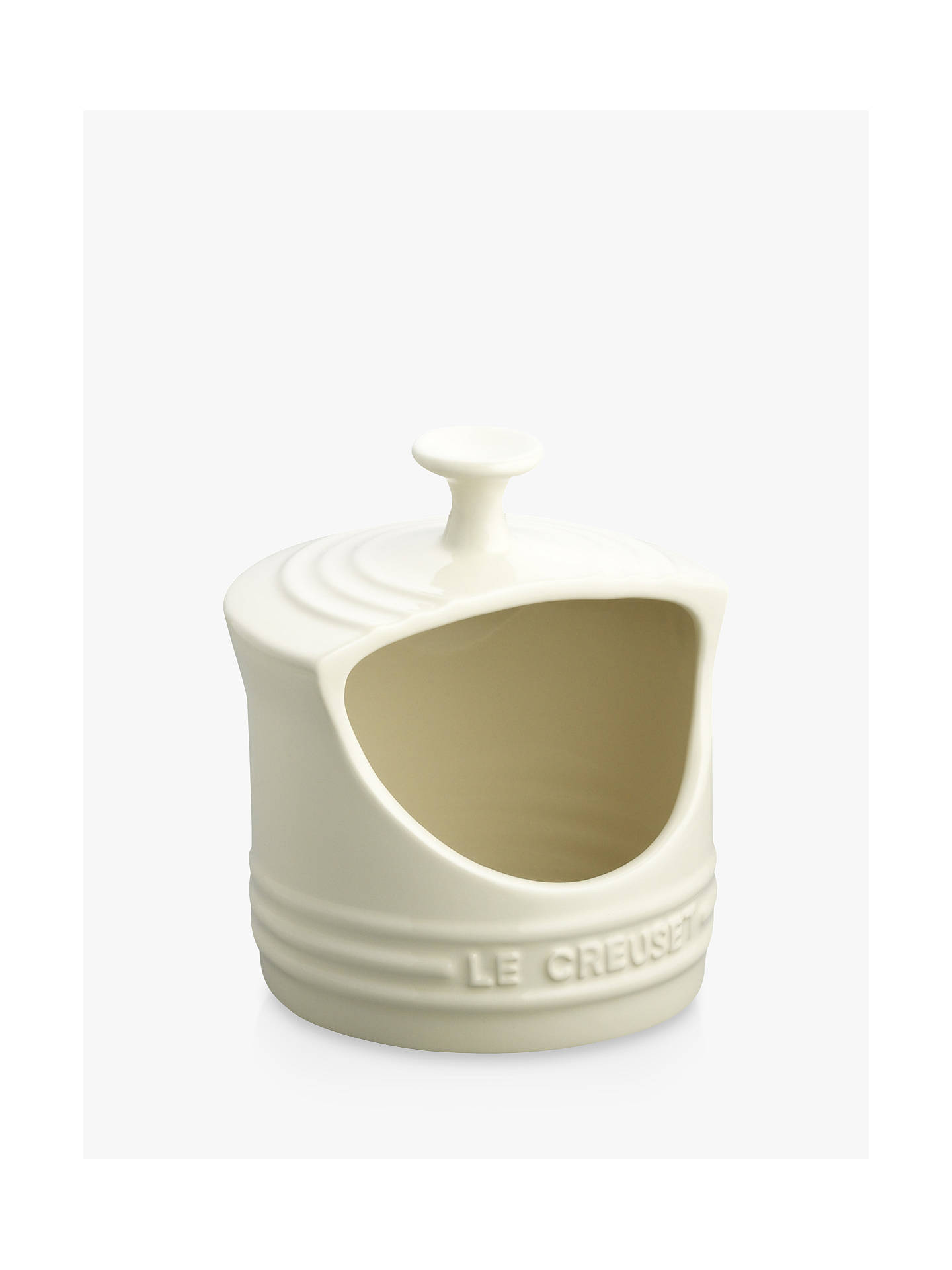 Buy Le Creuset Stoneware Salt Pig, Almond Online at johnlewis.com
