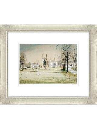 Jeremy King - King's College Cambridge Limited Edition Framed Lithograph, 68.5 x 83cm