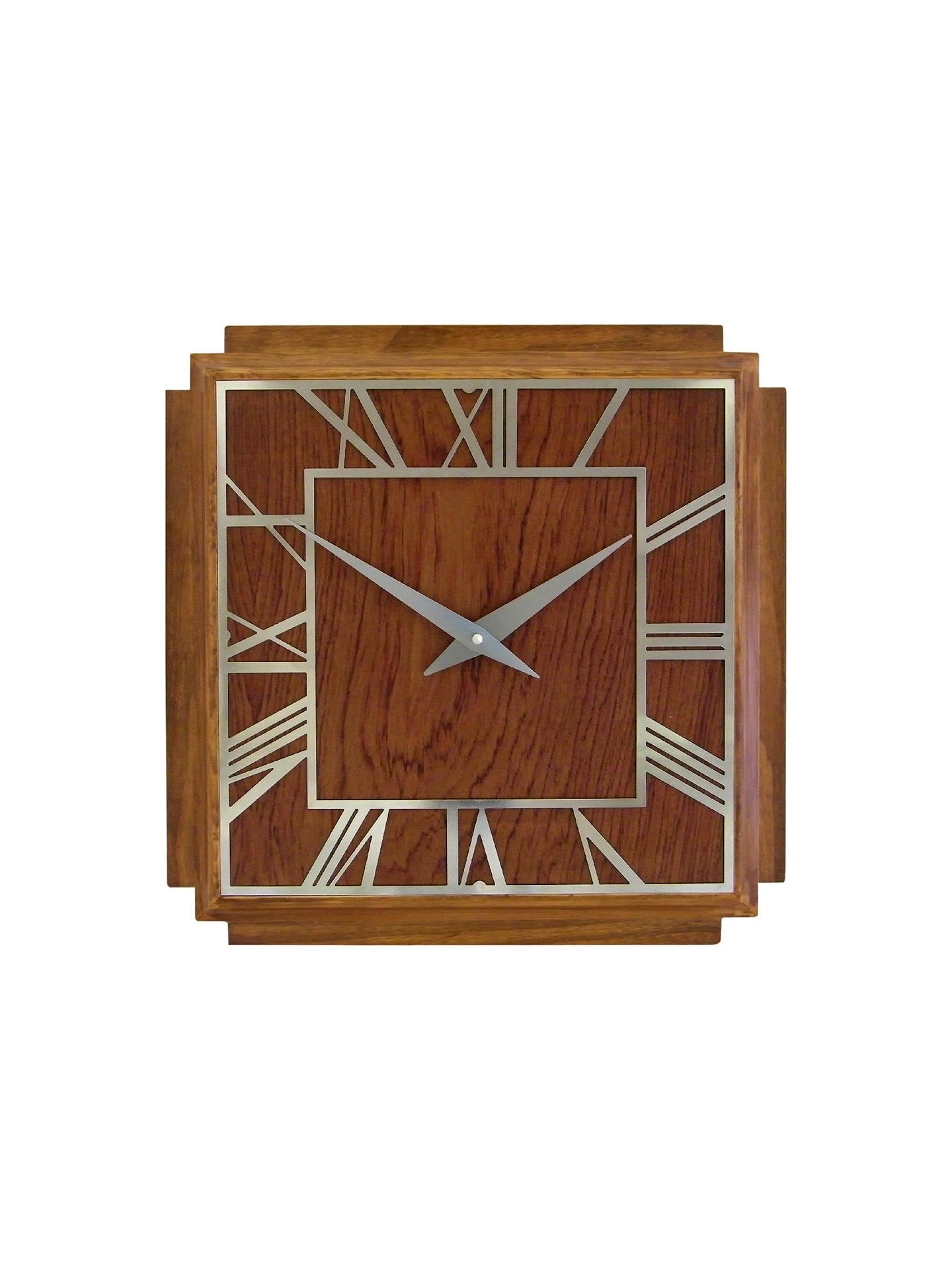 Deco Wall Clock Wooden