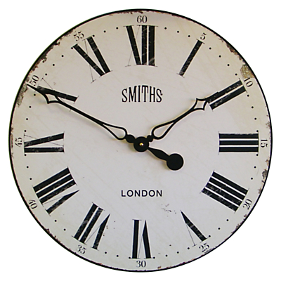 Lascelles Smith Wall Clock, Dia.50cm