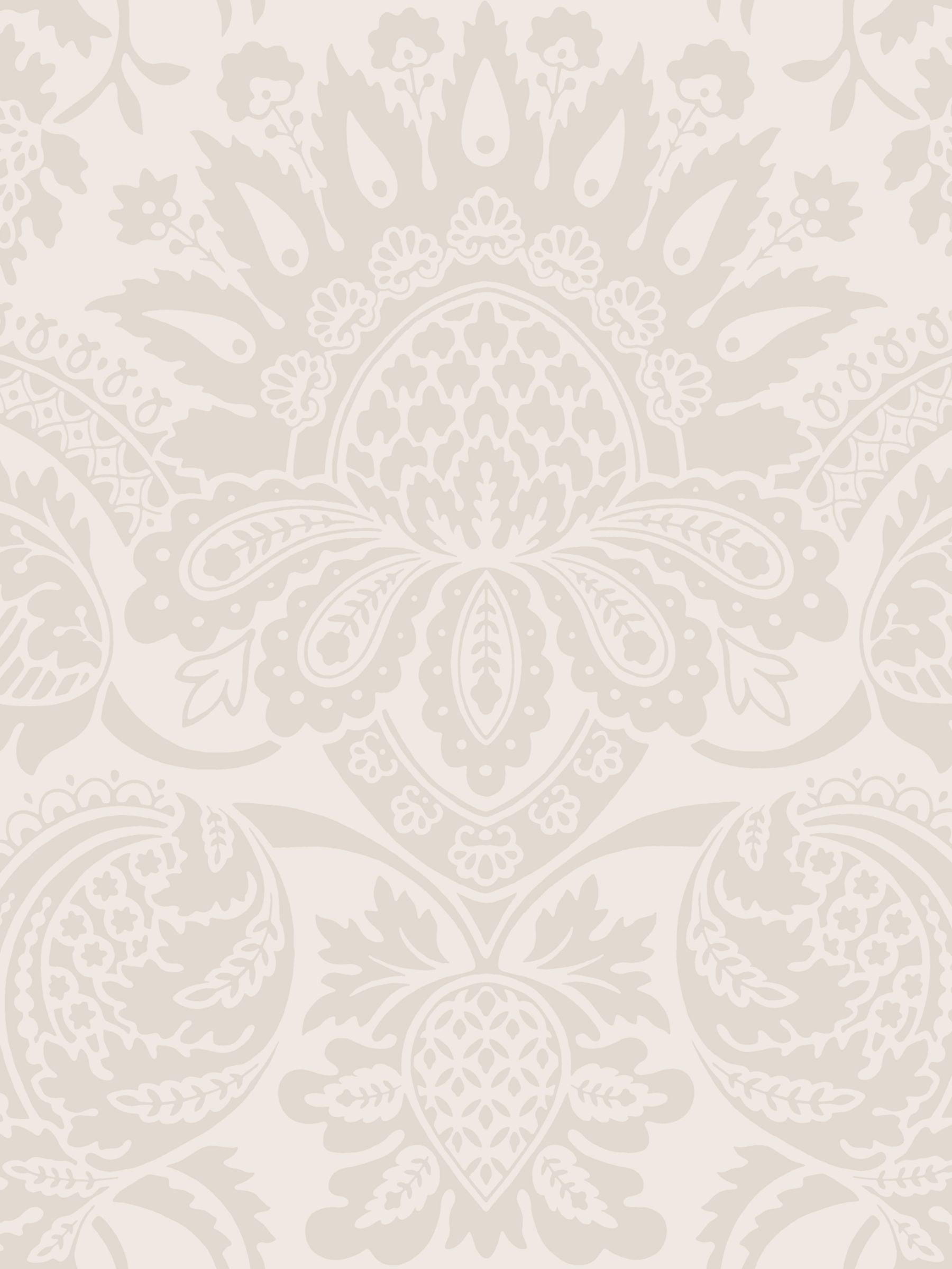 Cole Son Dukes Damask Wallpaper At John Lewis Partners