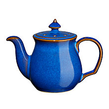 Buy Denby Imperial Blue Teapot Pepper Shaker Online at johnlewis.com