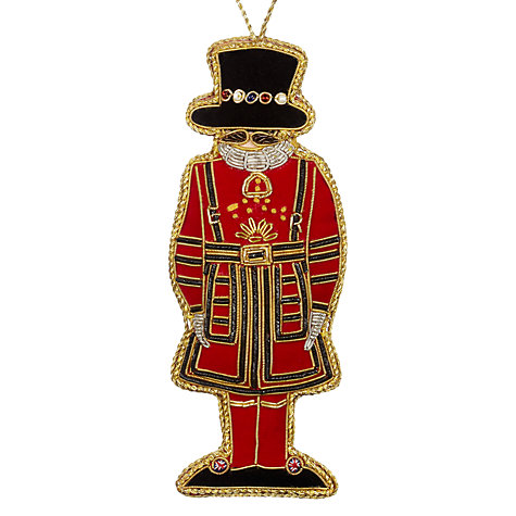 Buy tinker tailor tourism beefeater hanging decoration John lewis christmas ornaments