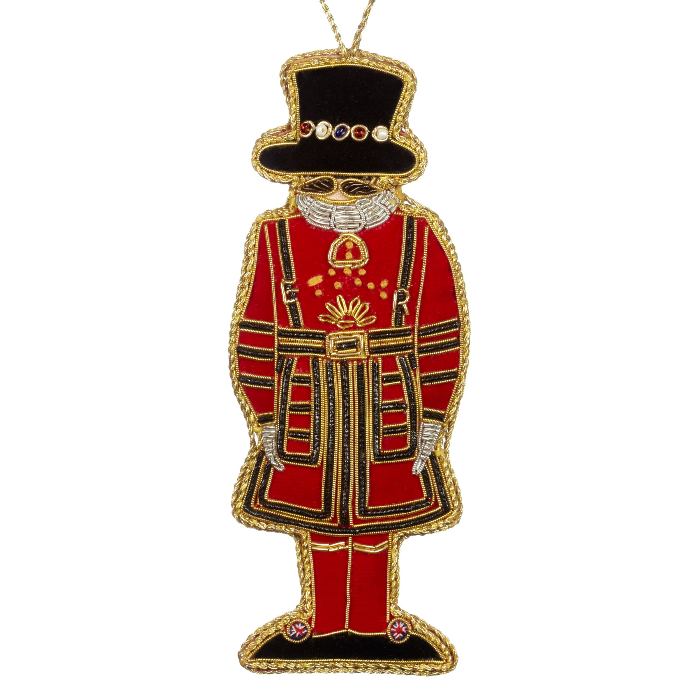 Tinker Tailor Tinker Tailor Tourism Beefeater Hanging Decoration