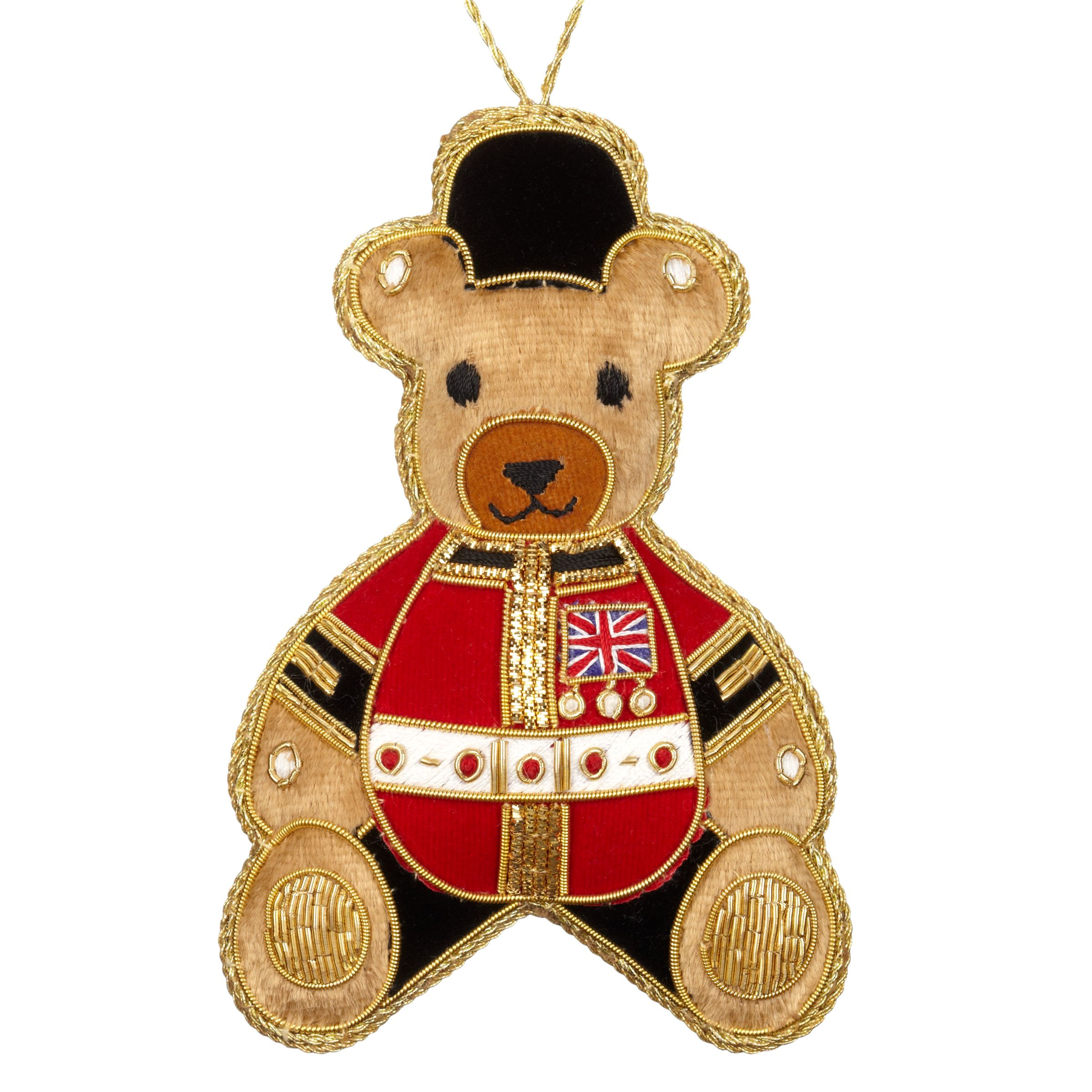 Tinker Tailor Tinker Tailor Tourism Union Jack Teddy Tree Decoration